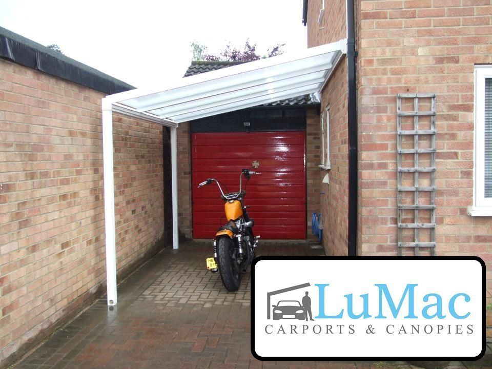 carport motorcycle car bike motorbike cover patio decking