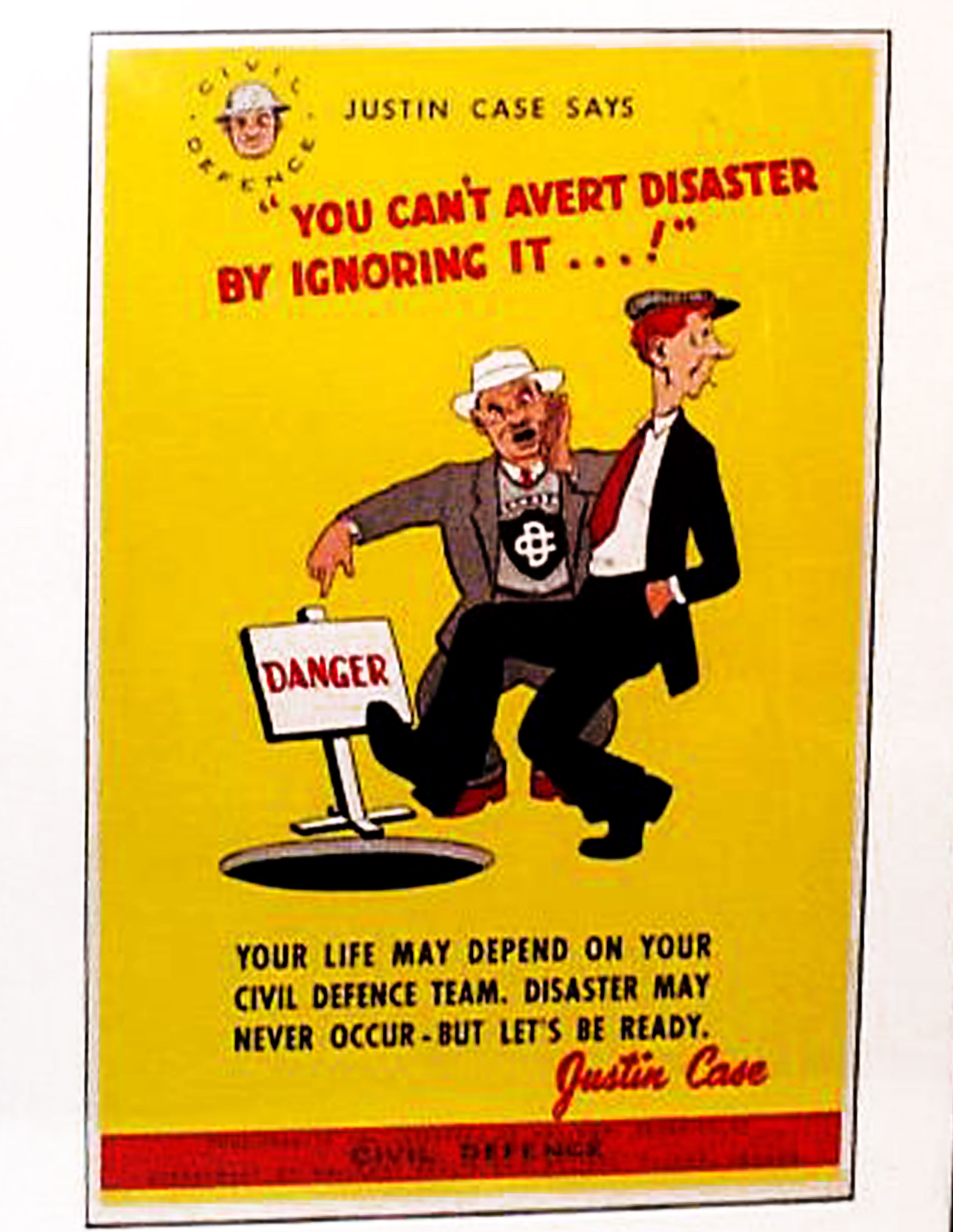 Canadian Civil Defence Cold War Poster | National health ...