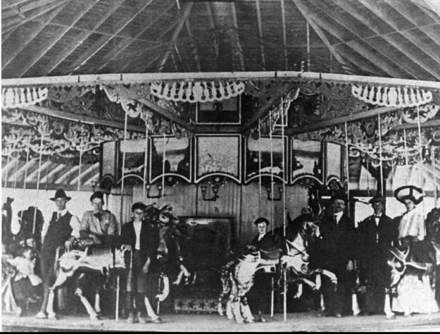 Seabreeze Carousel Burned Down In The Mid 90s Along With The