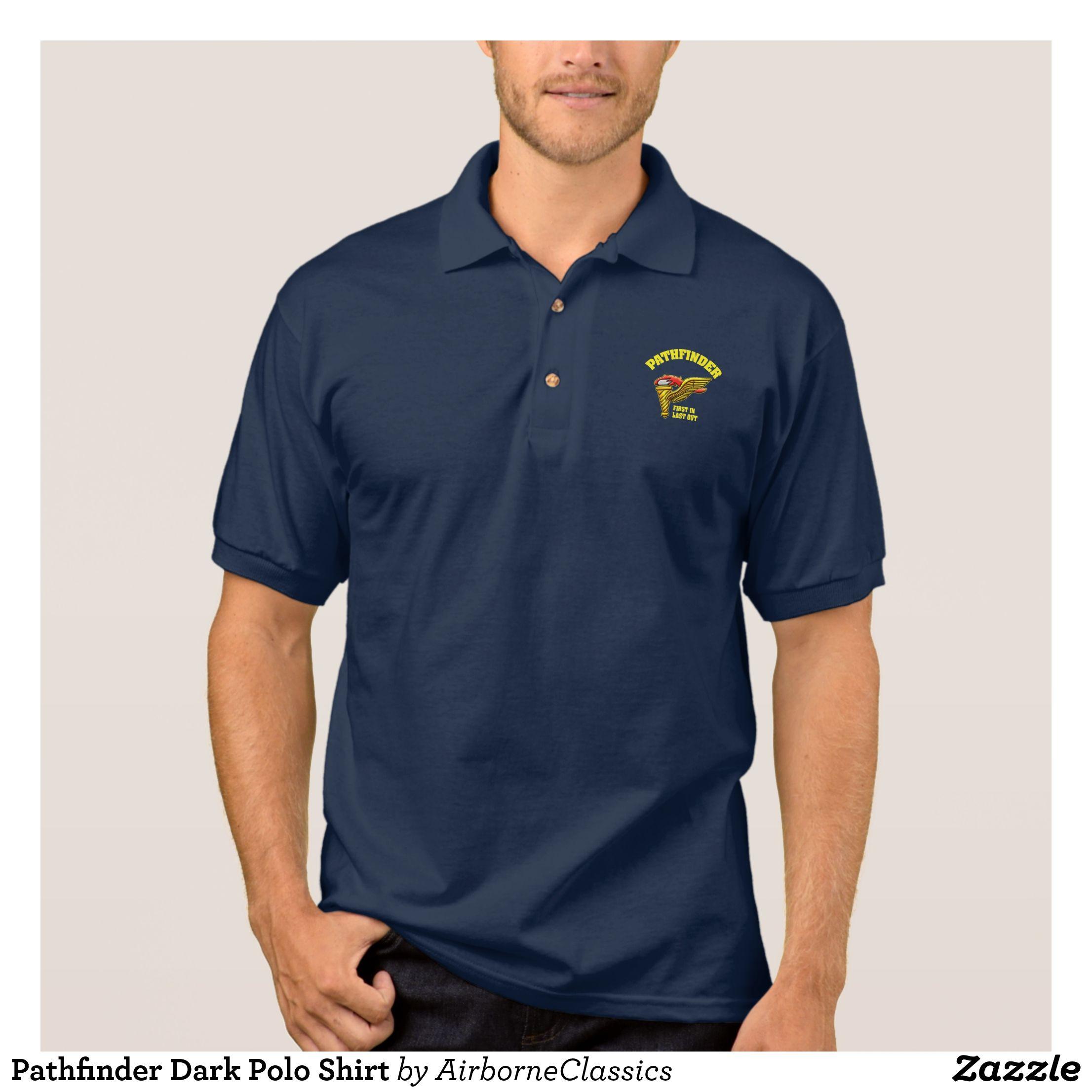 Pathfinder Dark Polo Shirt Mens Polo Shirts Cool And