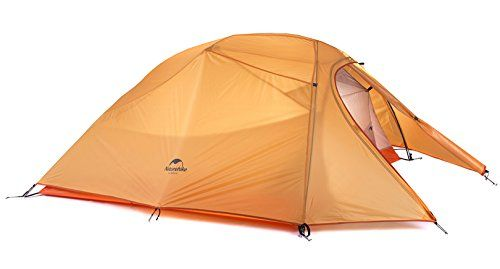 ... UP 2 Ultralight 2 Persons TentPeople 2 manColor  Grey(stardard) (20D silicone fabric) ; Orangeu0026Green (210T polyester cloth) Tent Fly ...  sc 1 st  Pinterest & Naturehike Cloud-Up Ultra-light 4 Season 2 Person Tent (Orange ...