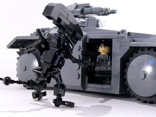 Lego Alien Vs Apc Lego Mini Figures Lego Lego Kits Lego Worlds