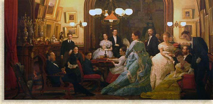 George Vanderbilt Family