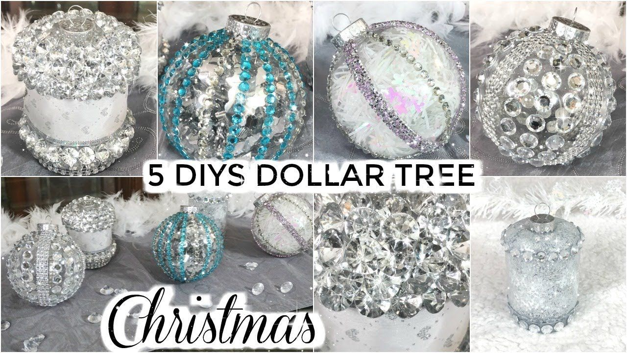 5 DOLLAR TREE CHRISTMAS DIYS DIY DOLLAR TREE CHRISTMAS