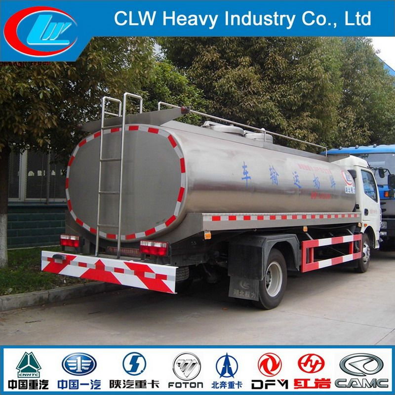 Hot Selling Milk Tanker Truck Fresh Milk Transport Tank