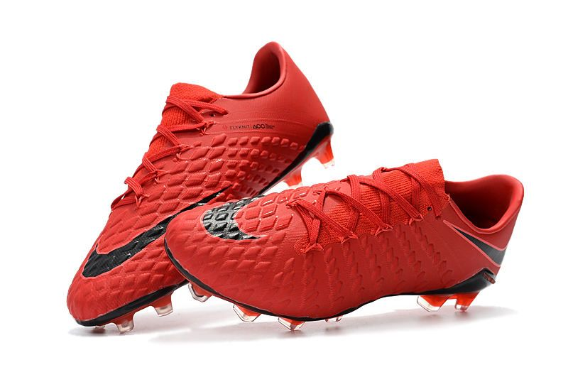 Zapatilla Nike Niños Futbol Hypervenom 3 Club Fg Rojo Gris