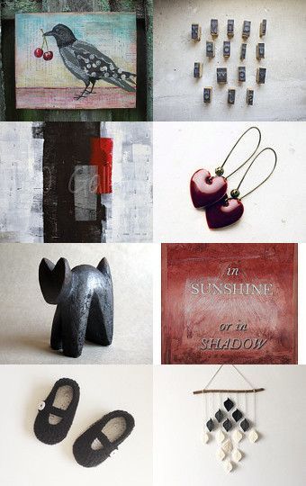 Collage by CatchSomeRaes on Etsy--Pinned with TreasuryPin.com