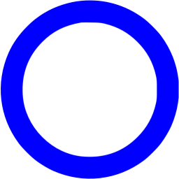 Blue Circle Outline Icon Free Blue Shape Icons Circle Outline Blue Circle Logo Outline