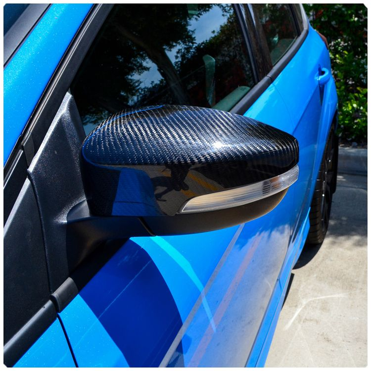 Ford Focus Rs St Carbon Fiber Side View Mirror Covers By Cal