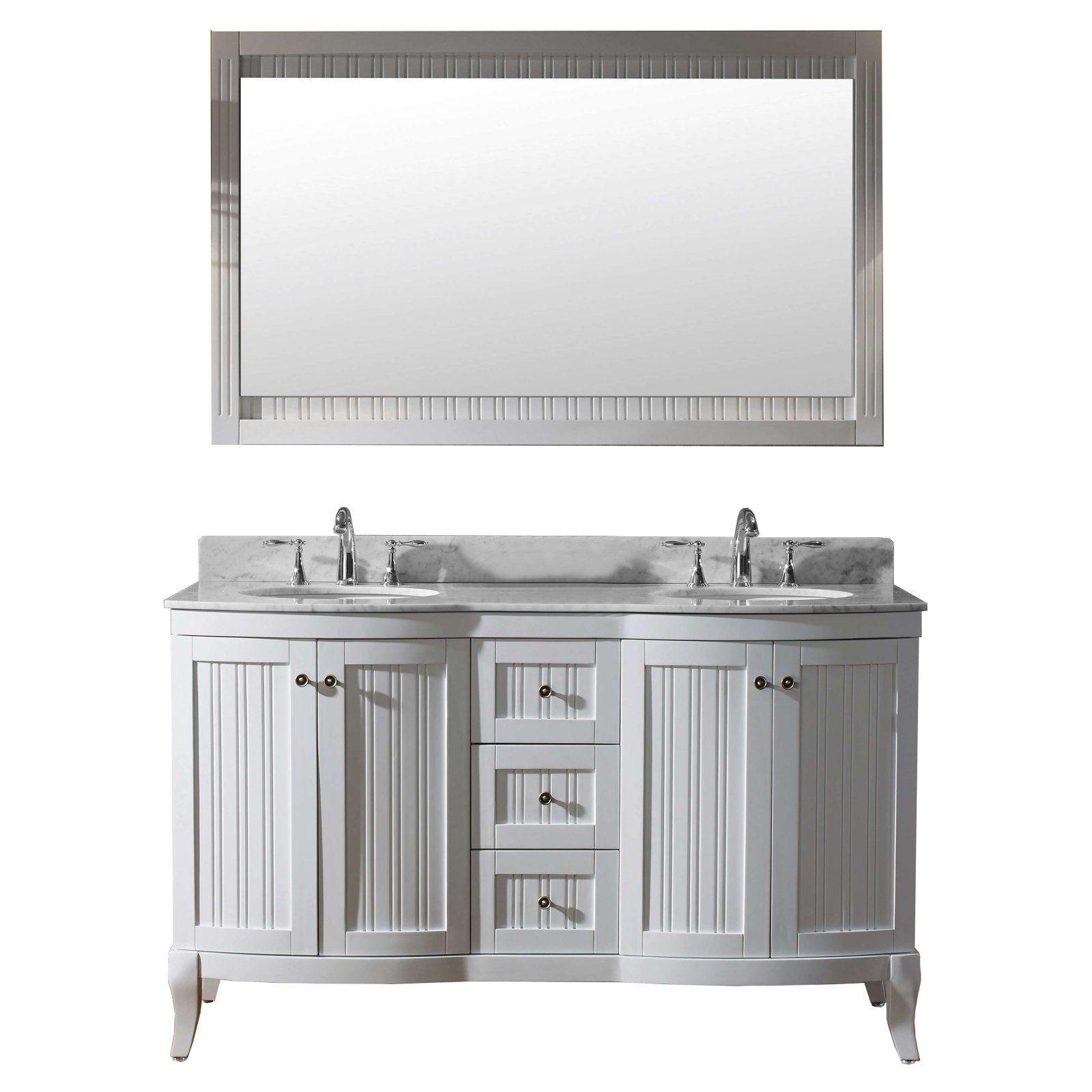 Virtu Khaleesi Ed 52060 Wmro 60 In Double Bathroom Vanity