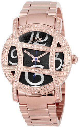 "JBW Women's JB-6214-F ""Olympia"" Rose-Gold Designer Diamond Gold Watch"