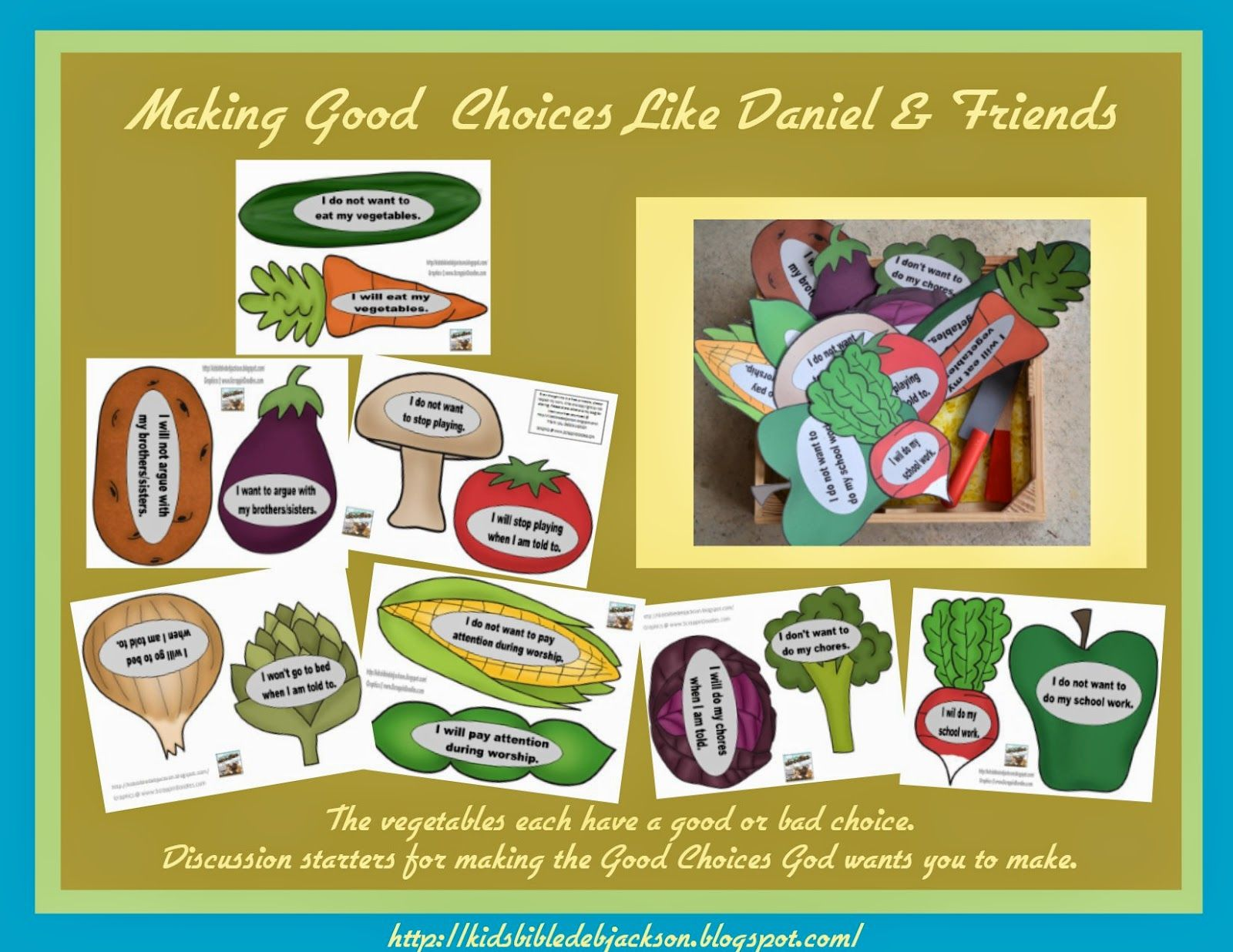 Bible Fun For Kids: Daniel, Shadrach, Meshach and Abednego Refuse ...
