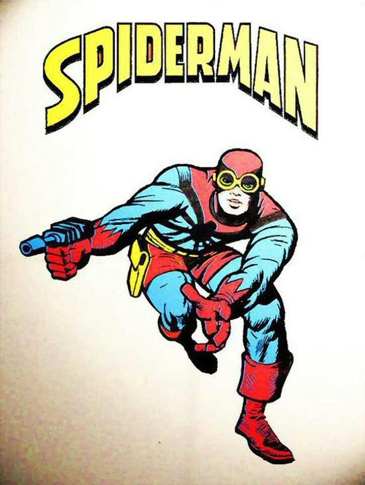 The original Spider Man design