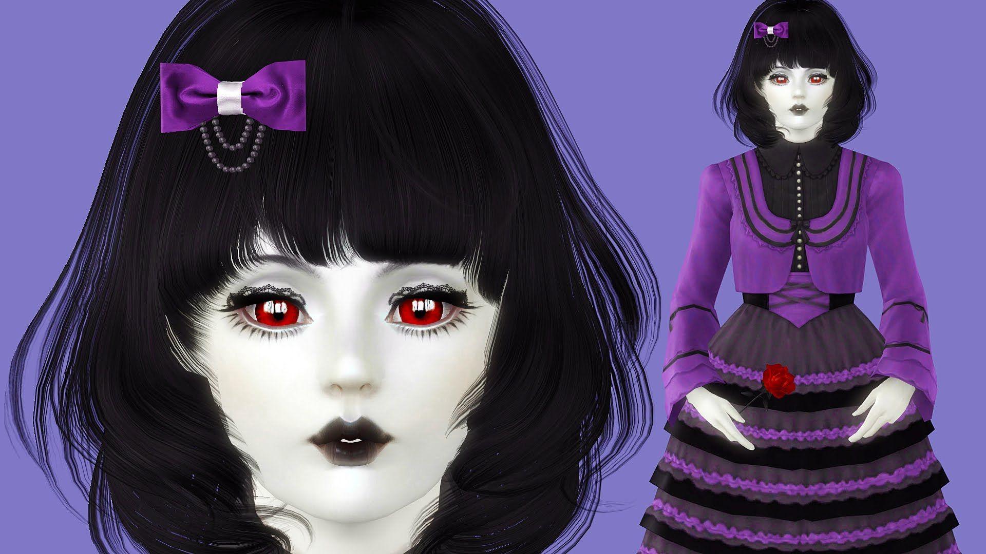 The Sims 3 [Kawaii Girls] 8 Download Sim Vampire Silvia
