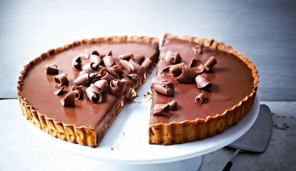 Pierre Hermé  sa tarte au chocolat au lait