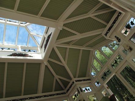A Copper Metal Clad Glass Roof Cuploa By Renaissance