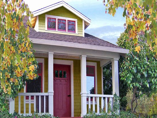 Loring house available in 261 and 356 sq. ft. plans by the Tumbleweed Tiny House Company.