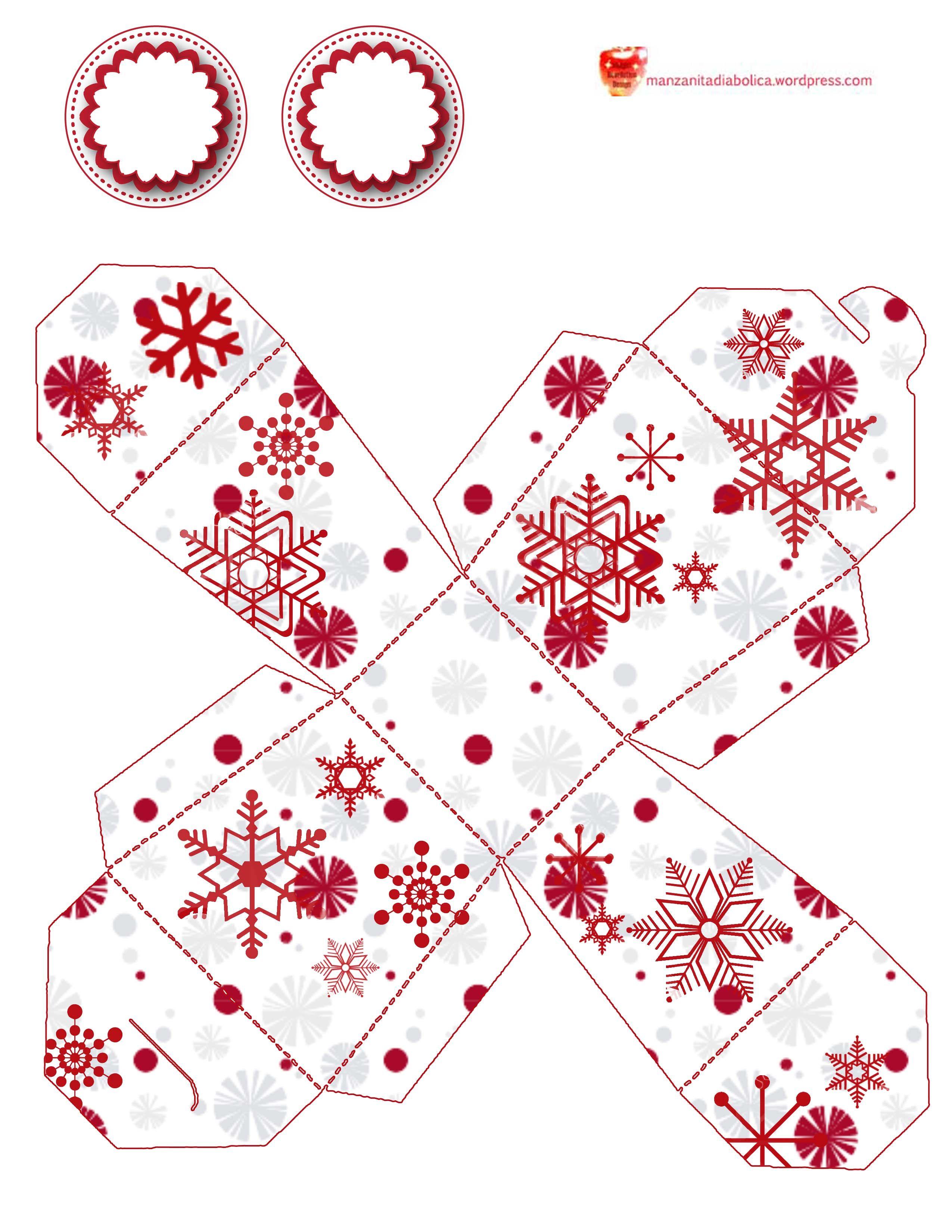 cajita navidad caja de