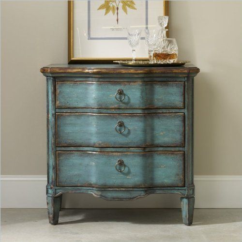 Hooker Furniture Seven Seas Three Drawer Turquoise Chest Console By Hooker  Furniture, Http:/