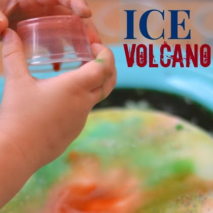 Ice Volcano {Activity for Kids}