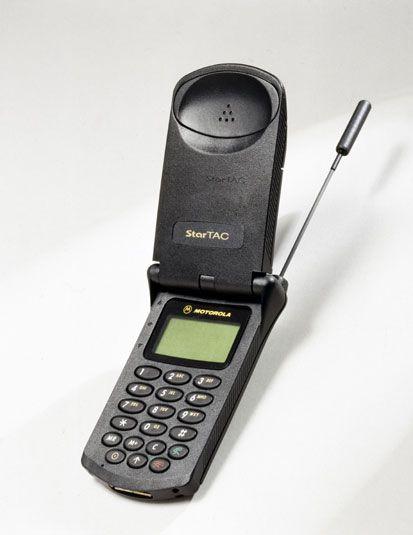 Curiosidadtecnologicas Motorola Startac En 1996 Fue El Primer