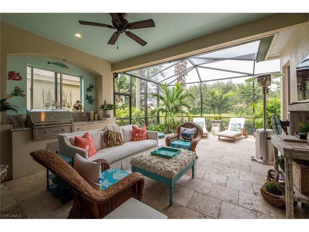 9129 Troon Lakes Dr, Naples, FL 34109 Lovely beach house