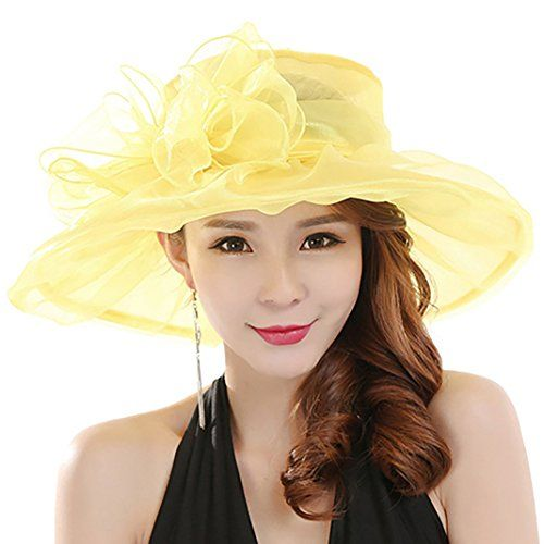 Women s Fashion Summer Church Kentucky Derby Cap British Tea Party Wedding  Hat d4e855844a9