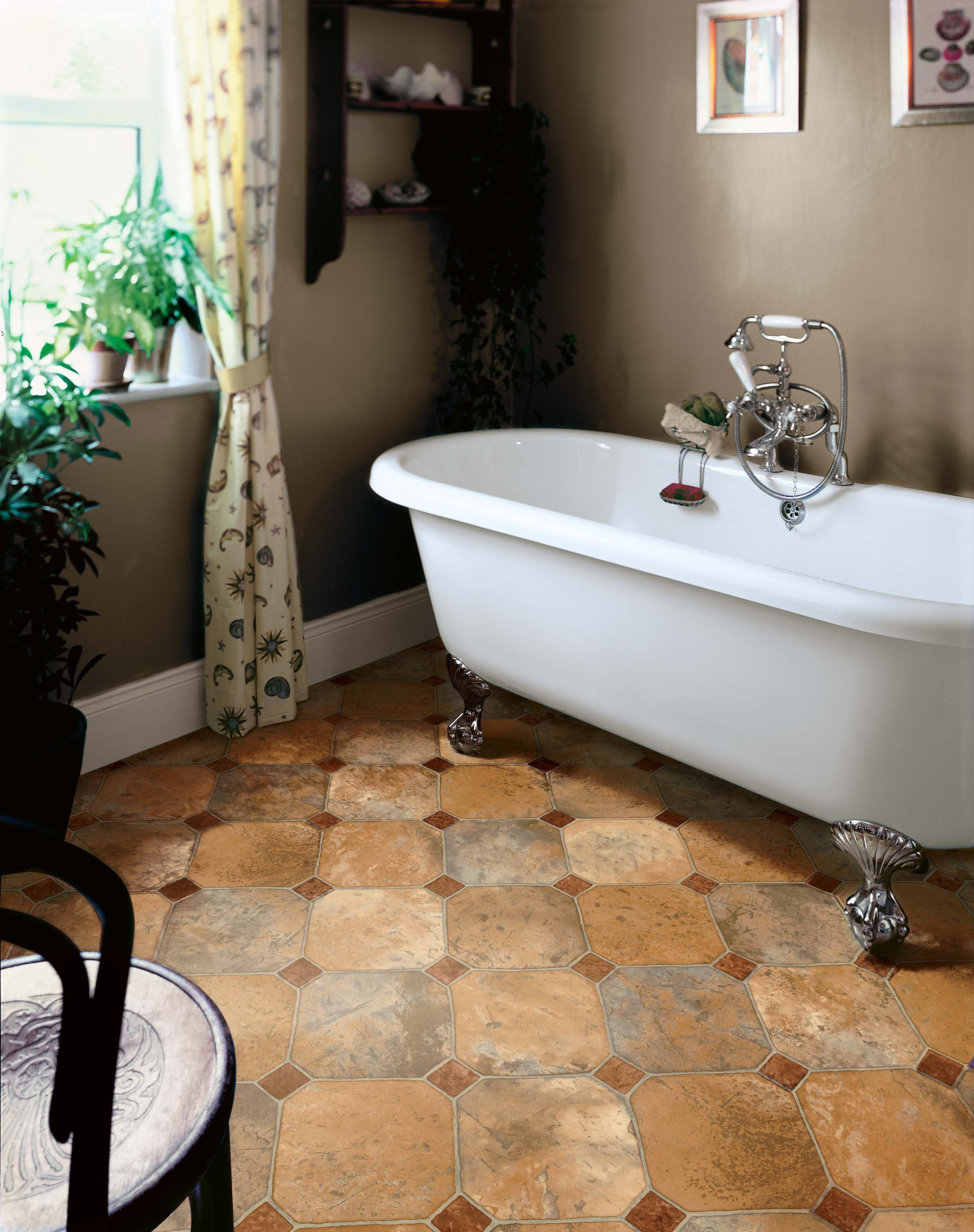Asbestos Under Bathroom Tiles With Original Type Eyagci Com With Images Vinyl Sheet Flooring Bathroom Wall Tile Diy Bathtub
