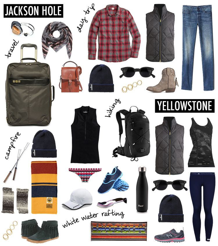 380338367b71 WHAT TO PACK FOR JACKSON HOLE AND YELLOWSTONE