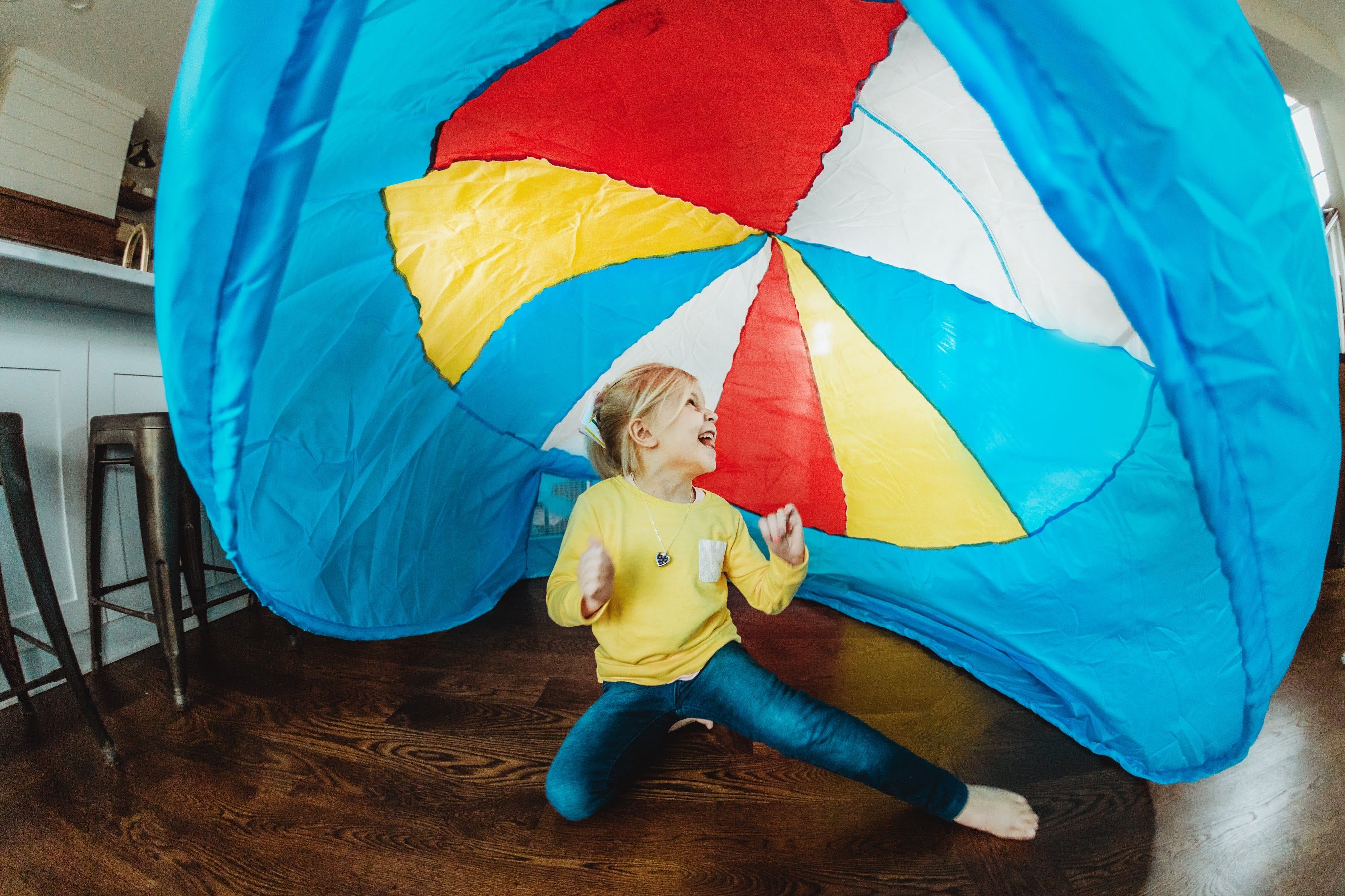 Beach Ball Blue Airfort With Images Kids Play Tent