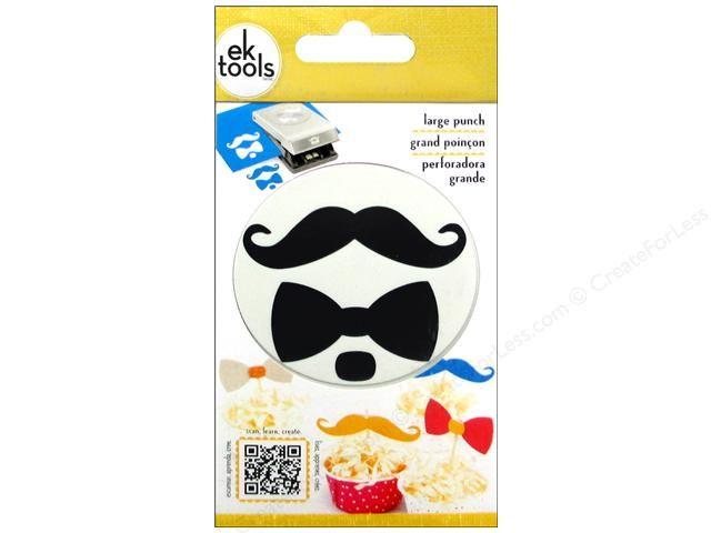 "1/""inch Mustache Shape Paper Craft Punch Craft Supplies Scrapbooking Puncher New"