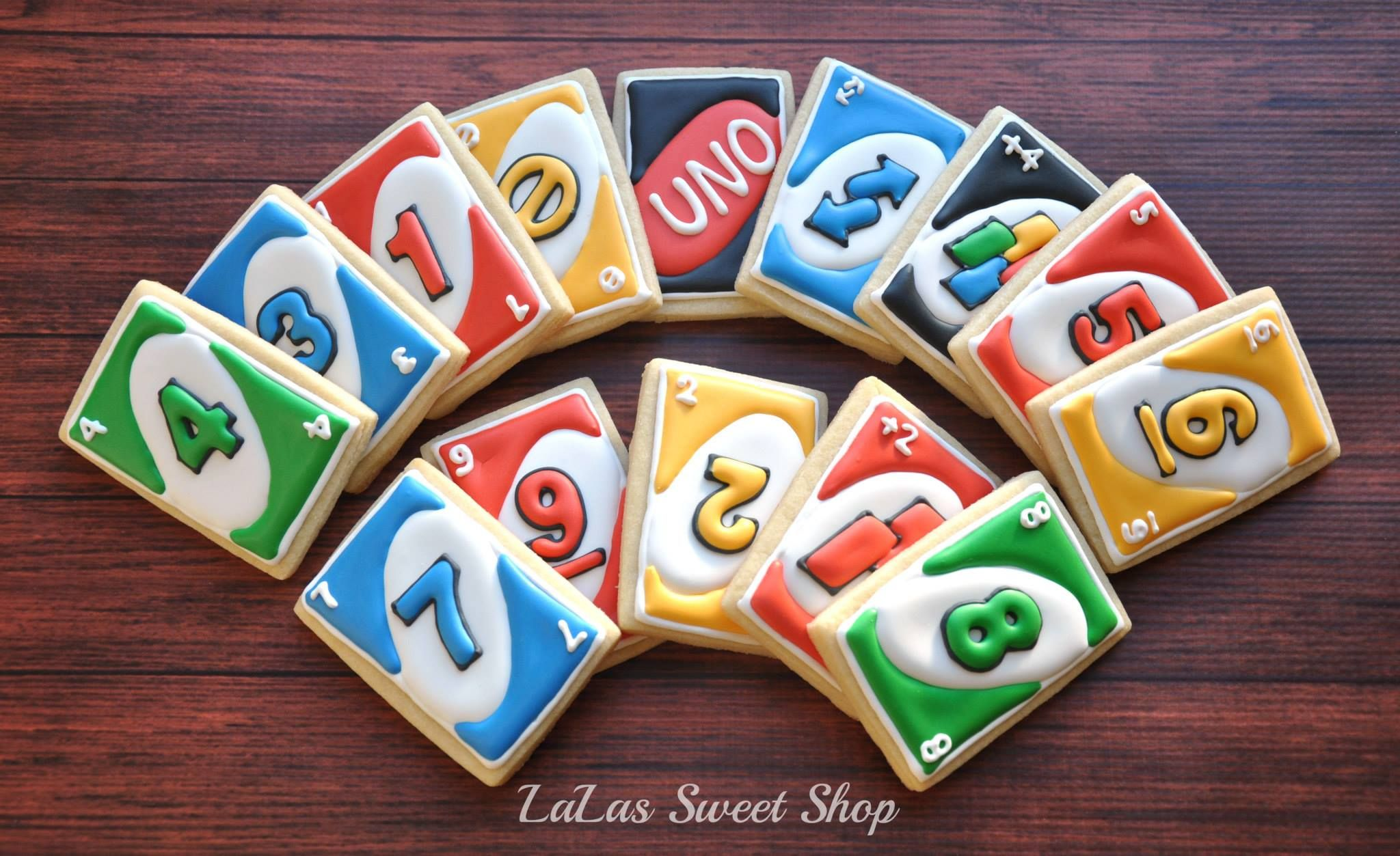 Uno Cookies....omgosh cupcakes too!!!! LaLas Sweet Shop