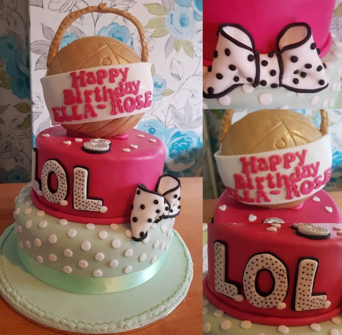 Lol Surprise Birthday Cake Gateau Fete En 2019 Fiesta Cumpleanos