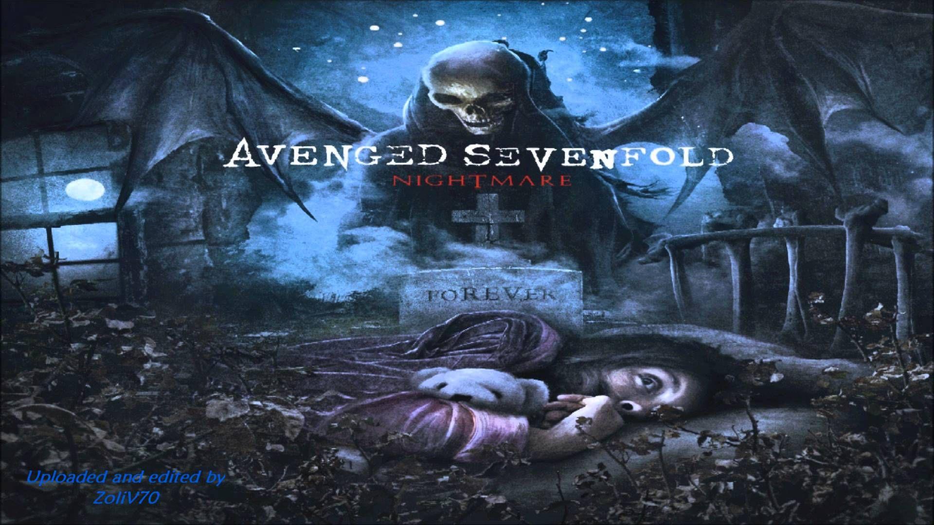 novo cd do avenged sevenfold nightmare