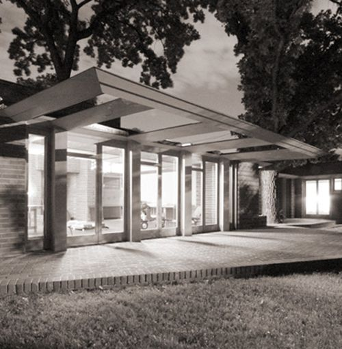 Malcolm Willey House. Minneapolis Minnesota. Frank Lloyd