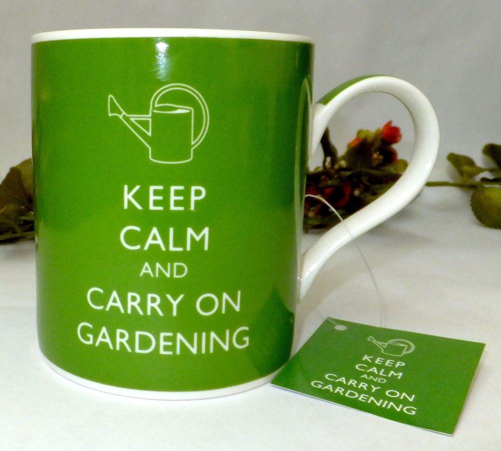 5c84d8f189d346a2b26027884cb1b069 - Keep Calm And Carry On Gardening Mug