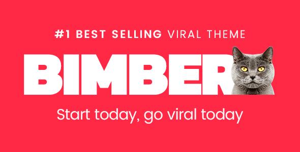 Bimber - Viral Magazine WordPress Theme   Botones, Wordpress y Blog