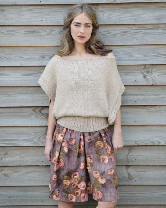 Breeze Top Knitting Pattern Purl Alpaca Designs Knit And Crochet