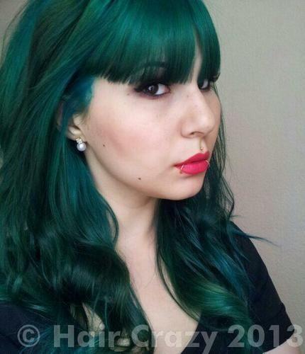 Buy Alpine Green Directions Hair Dye Haircrazy Com Green Hair