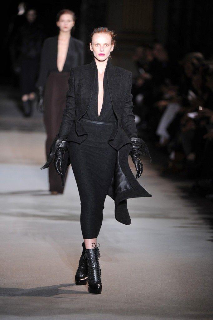 Haider Ackermann RTW Fall 2012 - Runway, Fashion Week, Reviews and Slideshows - WWD.com