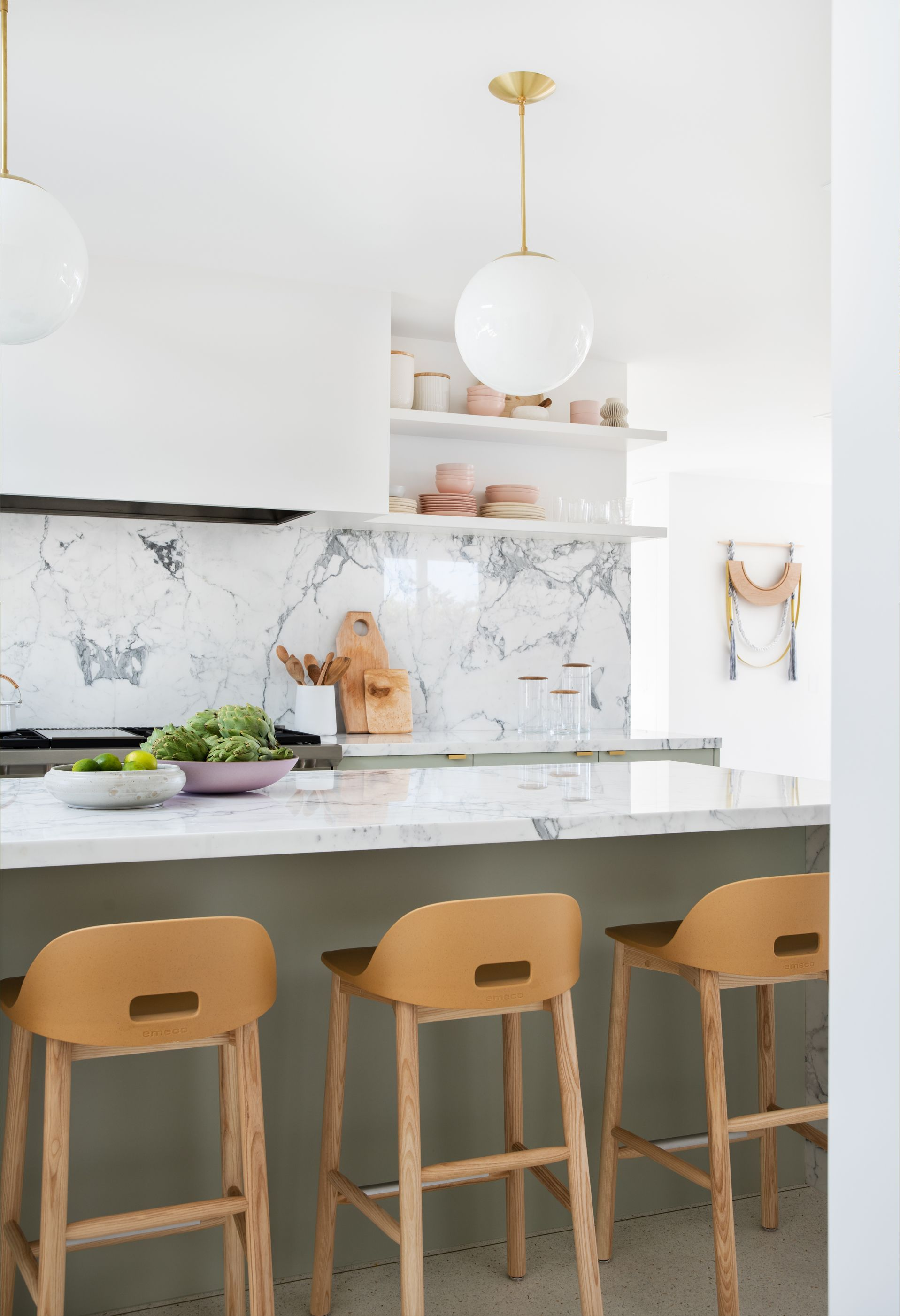 Sarah Sherman Samuel Moore S Mid Century Kitchen Design Small Kitchen Design Small Kitchen