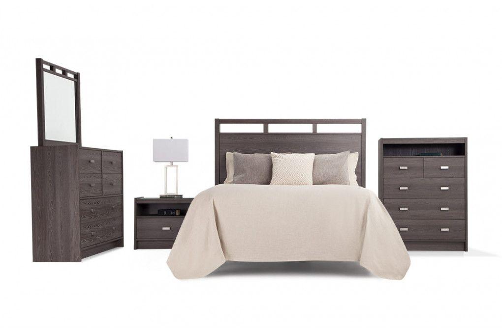 Set Includes Headboard Dresser Mirror Chest And Nightstand Bedroom Set Gray Master Bedroom Bedroom Sets