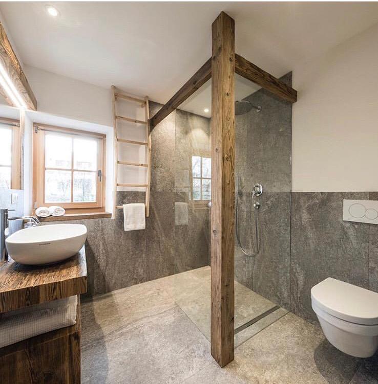 Pin By Pia Kronqvist On Deko Wohnen In 2020 Bathroom Decor Apartment Rustic Bathrooms Bathroom Interior Design