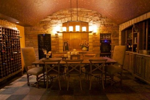 Creating A Wine Grotto In A Home S Crawl Space Home New Homes