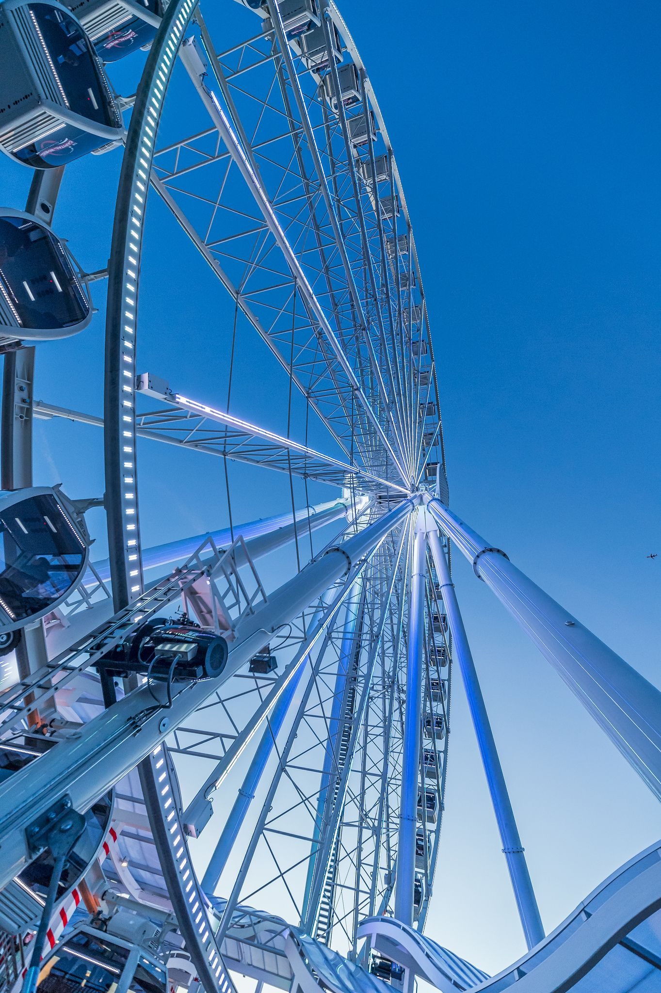 Taken underneath the Capital Wheel at National Harbor.   365 Full ...