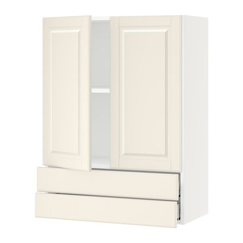 Incroyable SEKTION Wall Cabinet W/2 Doors+2 Drawers   White, Bodbyn Off