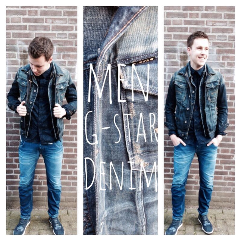 Blue for you! Fashion   men style   outfit of the day   G-Star Raw   Diesel  www.ruysfashion.nl
