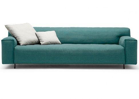 Sofa Grata Im Lounge Stil Bei Rolf Benz Turquoise Brown Benz