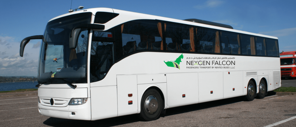 Take A Trip With Nexgenfalcon S Luxury Buses In Dubai Luxury Bus