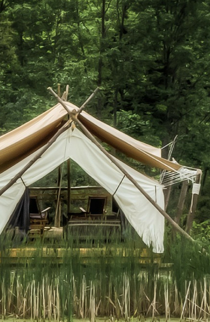 Luxury Safari Tents in Enchanting Finger Lakes Region ...